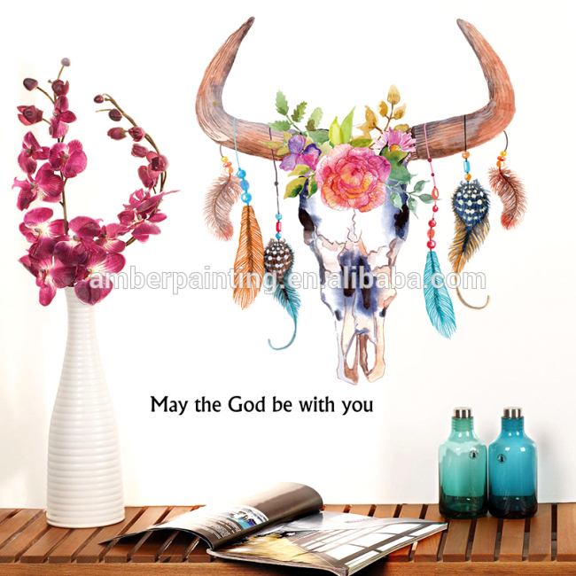 Wall Sticker PVC Peel and Stick Nice Wall Decals Wall Decor Mural for Sofa Background Living Room