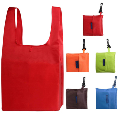 Reusable, Washable, Durable and Lightweight Grocery Bags Nylon Tote Shopping Bag