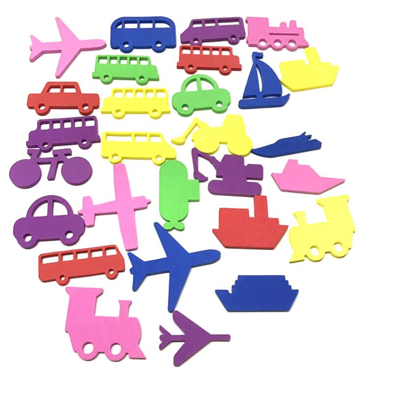 Baby floating EVA foam educational baby toy bath toy set