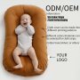 ODM high quality portable Infant Cribs baby nest lounger simple baby nest sublimation