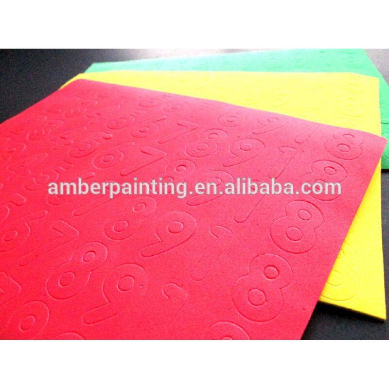 Eco friendly kids crafts educational alphabet letter EVA foam sheet