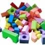 High-density educational kids big building eva foam blocks