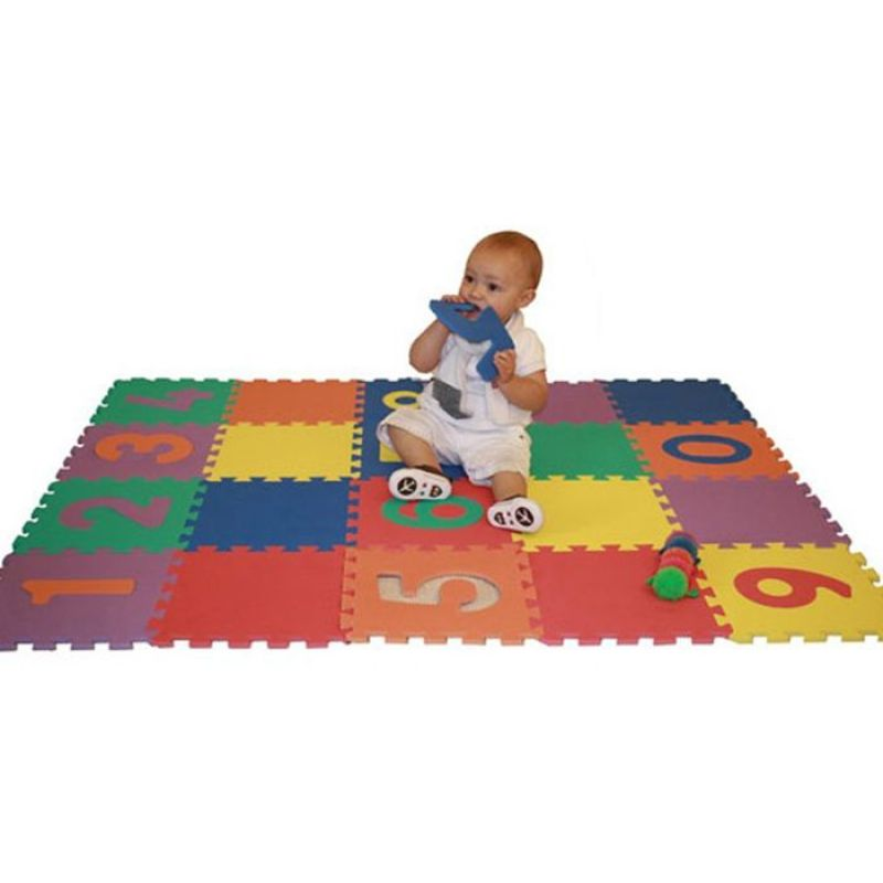 Eco Soft Foam Tile Interlocking Kids Play Puzzle EVA Floor Mats