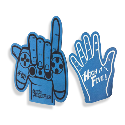 Wholesale EVA foam fingers victory cheering foam hand cute eva mini finger foam hand
