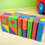 Safe material EVA foam building blocks for kids