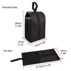 waterproof fabric nylon travel shoe organizer bag