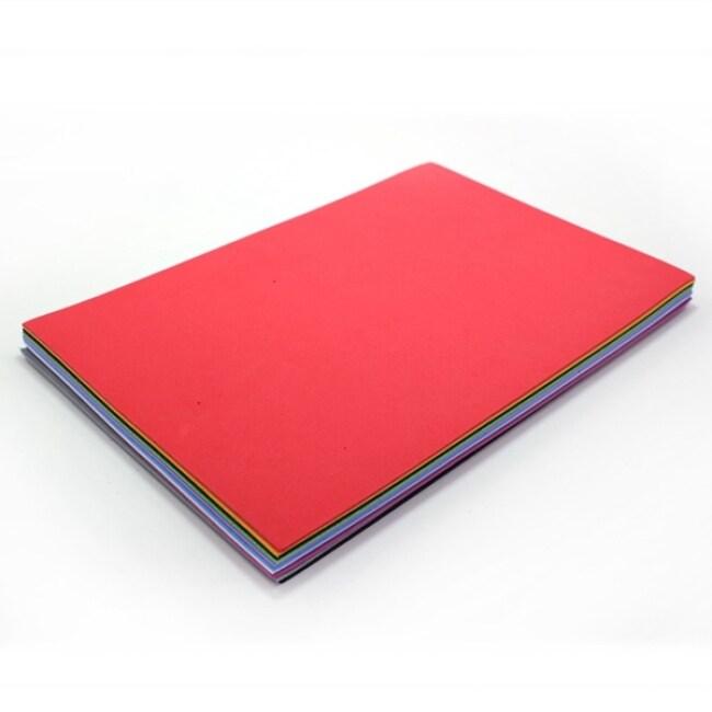 Kids crafts colorful eva material multi function foam plain sheets