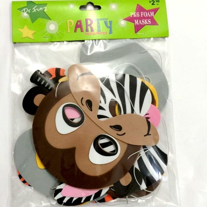 EVA party mask custom design christmas foam mask diy toy for kids