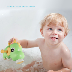Wholesale dinosaur water gun toys bath toys spray water   funny bath toy