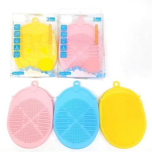 Custom Baby Silicone massage bath brush
