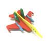 New design children DIY EVA foam educational DIY puzzle plane toy