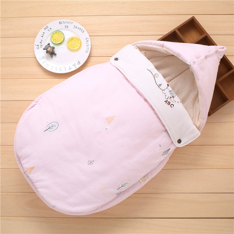New style breathable new born baby swaddle sleeping bag