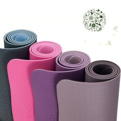 Non toxic safe custom design black EVA foam yoga mat