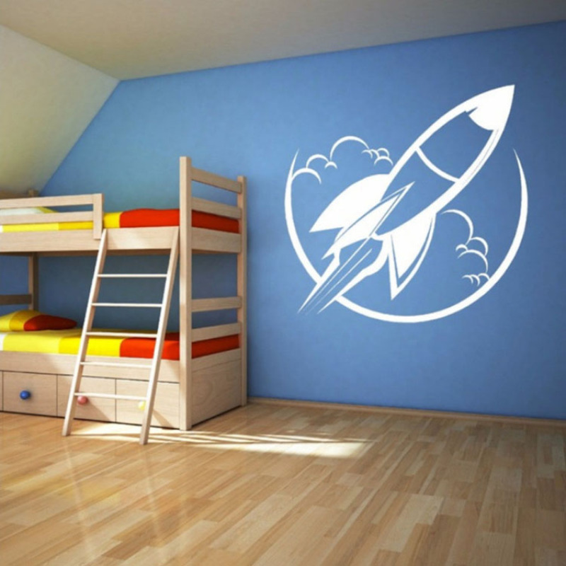 Home Wall Stickers Decor Bedroom Living Room Couch TV Background Funny Sticker Removable Vinyl Art Mural Decals for Girls Boys
