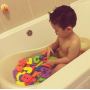 Baby Bathtub bath Toys  chinese learning children eva Foam bathroom for kids