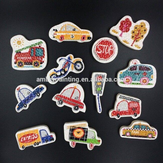 Child Cartoon Traffic Safe and Colorful baby bath toy organizer