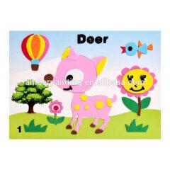 3D Cartoon Foam Sticker,EVA Stickers Sheets For Kids
