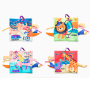 Hot sale educational and eco-friendly washable fabric baby cloth book