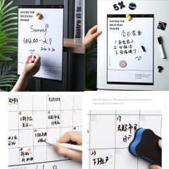 Fridge Magnet Write Wipe Message Boards Refrigerator Dry Erase Board Blackboard Magnetic Calendar Chalkboard Fridge Stickers