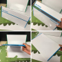 Wholesale Double-sided magnetic portable interactive mobile whiteboard stand desktop white board  prices