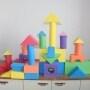 Creativity piece soft toy blocks Eva foam building blocks
