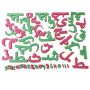 Wholesale children's magnetic alphabet toy painting whiteboard arabic letters kids magnetic drawing