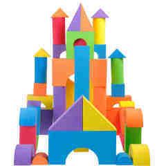 Multifunctional good educational best foam building blocks