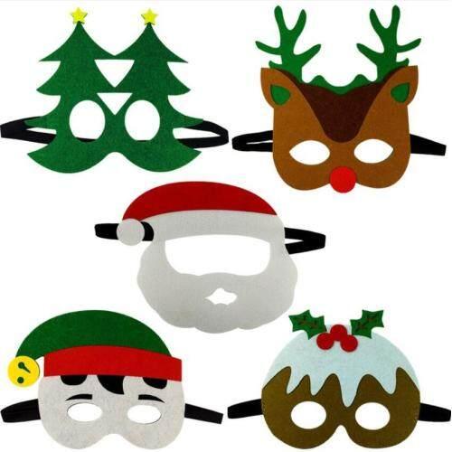 Custom design Christmas halloween animal free sample eva mask for party