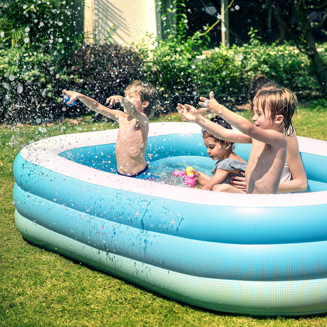 Intex Swim Center Family Inflatable Pool Garden Outdoor Backyard fun swimming inflatable pool kids