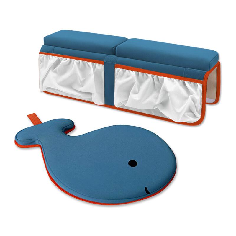 Factory Custom baby bath knee pad kids bath tub kneeler pad and elbow rest pad combo