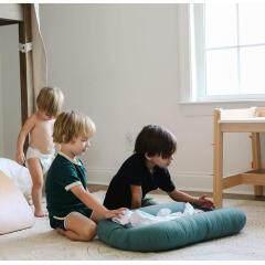 Wholesale customized high quality portable Infant Cribs baby nest set newborn organic cotton baby snuggle nest