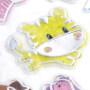 kids cheap reusable unicorn animals puffy stickers play set 2017 new design