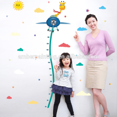 Removable Peel and Stick Airplane PVC Wall Stickers for Kids Room Nursery Decor