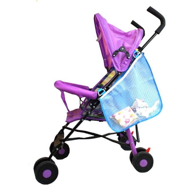 new design nylon mesh stroller organizer bag