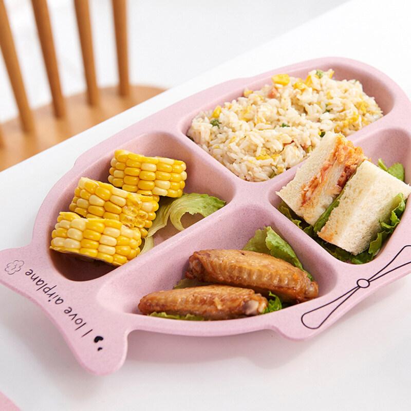 BPA free food grade cartoon baby bowls  kids plates