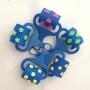 Custom shape decorative flower eva foam stamp for kids play