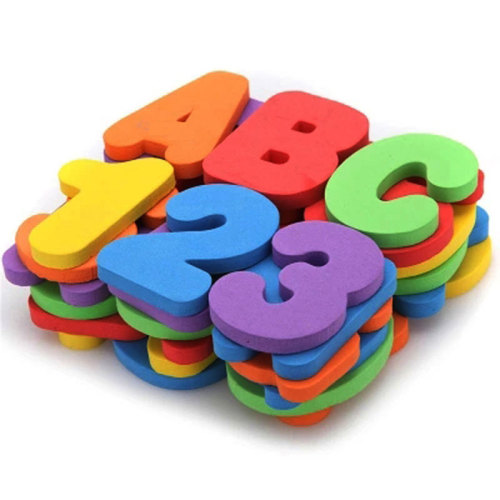 Custom educational alphabet letter tub town foam bath toys for kids bath letters and numbers bath letter & numbers set
