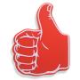 Wholesale new design light foam hand cheering finger