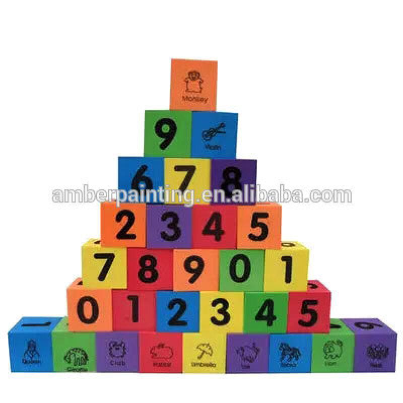 environmental toy foam building blocks big bricks construct toy