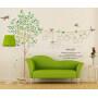 Family or nursery big wall stickers tree