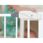 High quality Firm Adjustable Retractable Baby Safety Gate Pet Dog Safety Gate