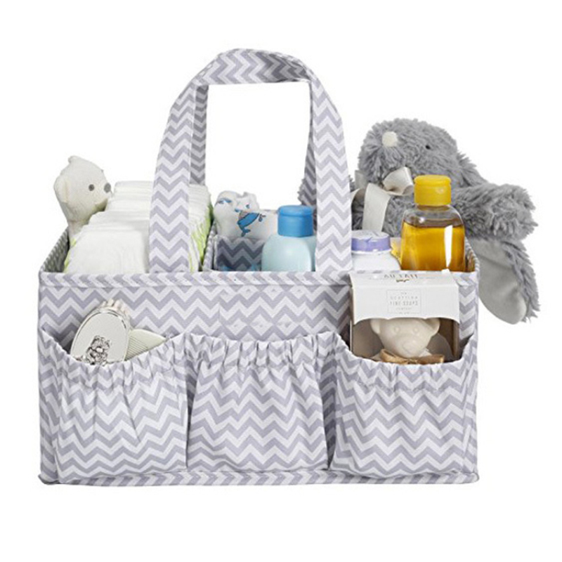 Custom non-Woven Fabric waterproof portable baby storage basket organizer A313