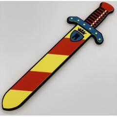 Custom EVA Foam sword and shield weapon toy