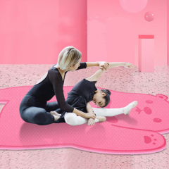 wholesale  cut 6mm anti slip Cartoon kids yoga mat eco friendly custom logo