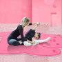 wholesale  cut 6mm anti slip Cartoon kids yoga mat eco friendly custom logo