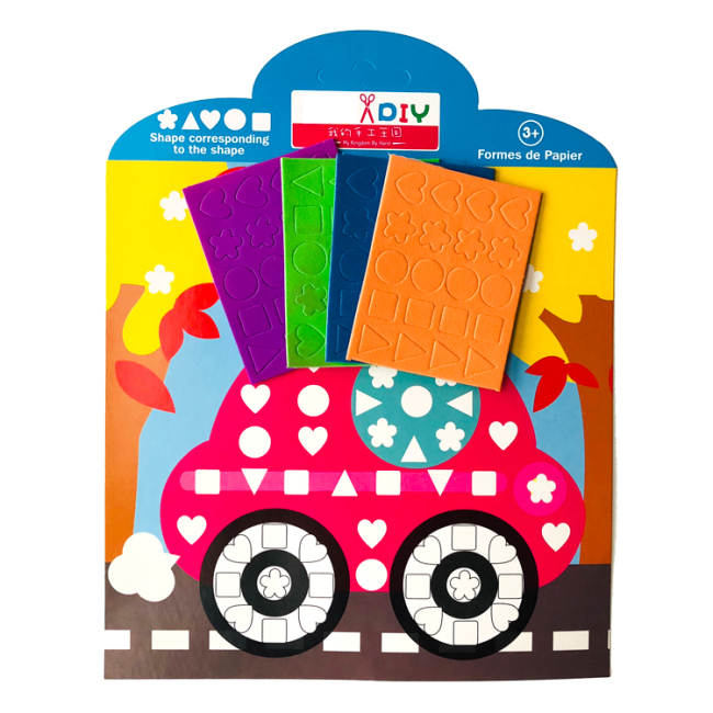 diy kit handmade arts and crafts mosaic sticker for kids