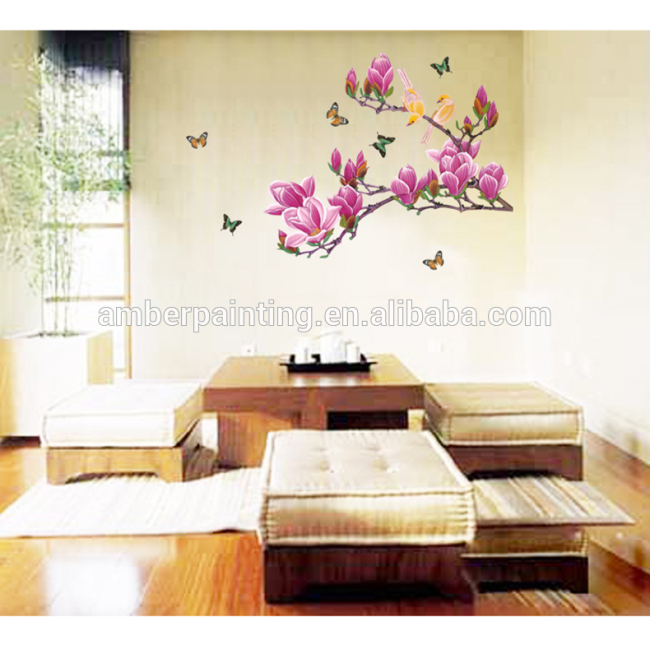 wall stickers trees flowers motivational wall art stickers for family