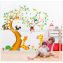 colorful children wall stickers wall sticker tree
