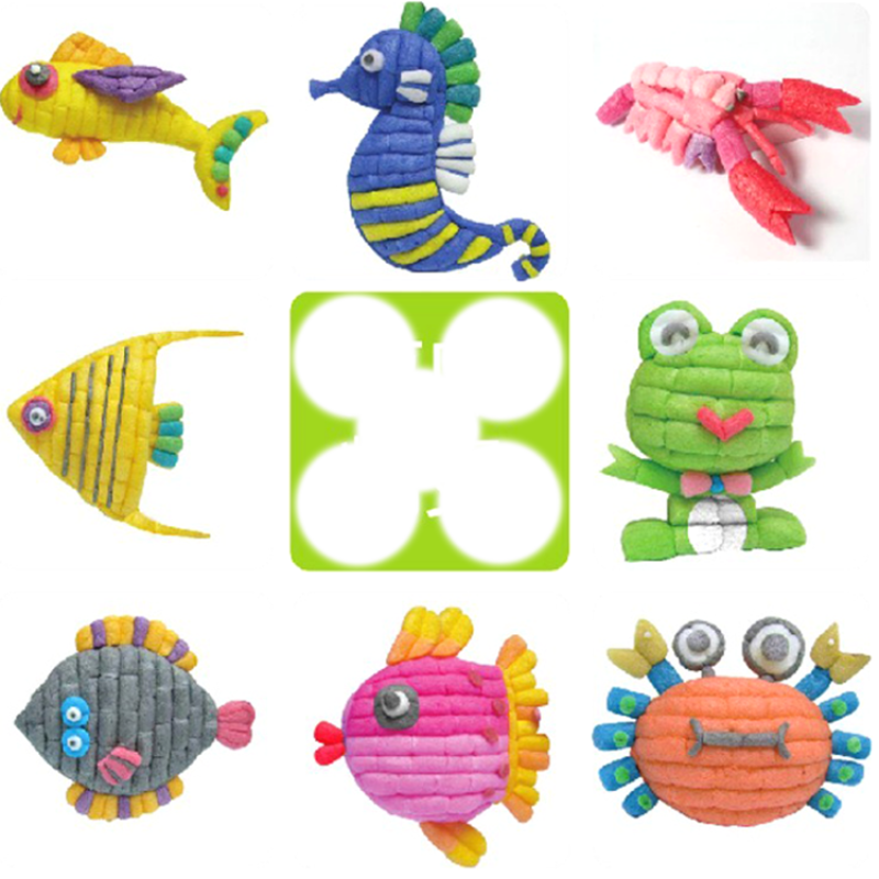 Creative Hot Puzzle Play Flour Intelligent Educational Magic Corn Toys for kids
