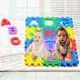 Melors colorful kids play mat educational eva foam jigsaw puzzle mat